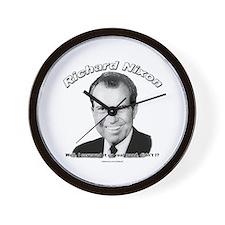 Richard Nixon 03 Wall Clock
