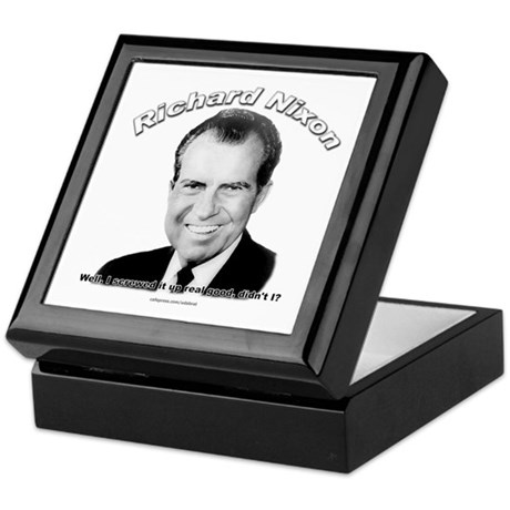 Richard Nixon 03 Keepsake Box