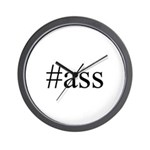 # ass Wall Clock