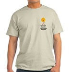 Fibromyalgia Awareness Chick Light T-Shirt