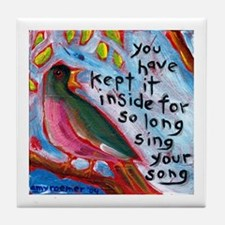 Your Song Tile Coaster