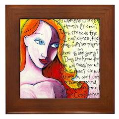 With Her Light Framed Tile