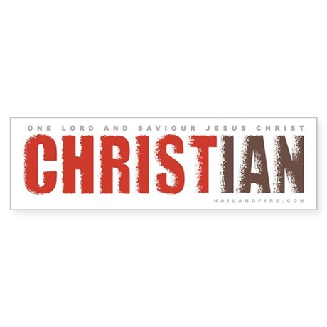 Christian - One Lord (Bumper Sticker)