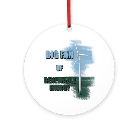 Big fan Ornament (Round)