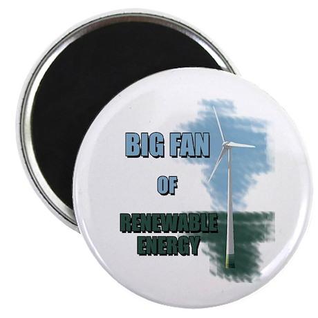 "Big fan 2.25"" Magnet (10 pack)"