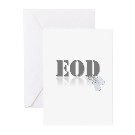 EOD Greeting Cards (Pk of 20)