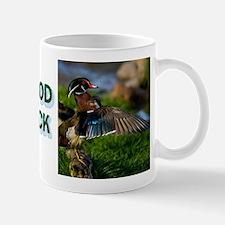 Wood Duck Wing Mug