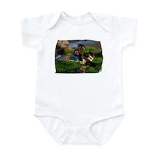 Wood Duck Wing Infant Bodysuit