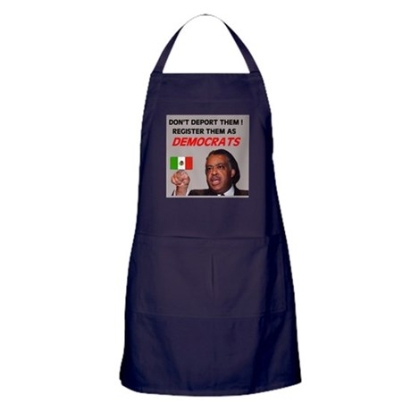 FLOOD OF ILLEGAL VOTERS Apron (dark)