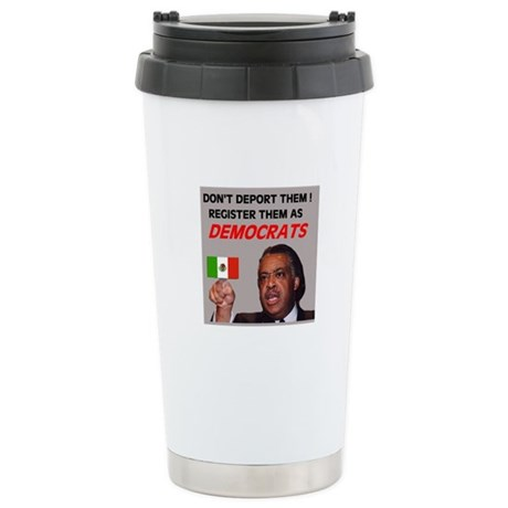 FLOOD OF ILLEGAL VOTERS Stainless Steel Travel Mug