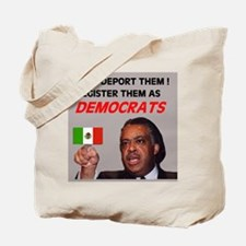 FLOOD OF ILLEGAL VOTERS Tote Bag