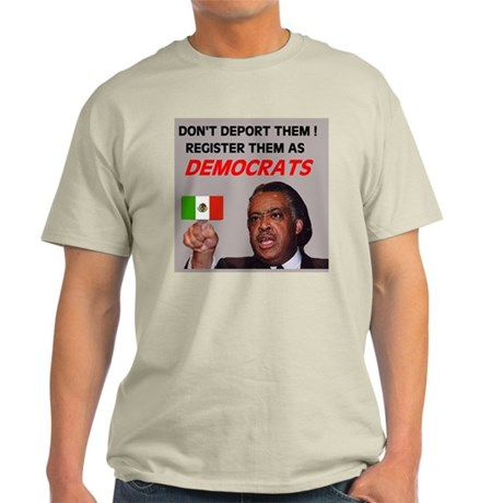 FLOOD OF ILLEGAL VOTERS Light T-Shirt