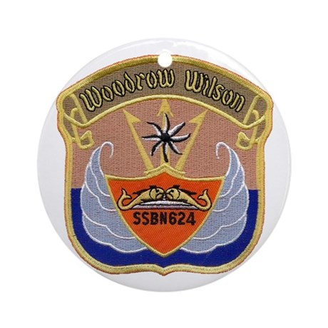 USS WOODROW WILSON Ornament (Round)