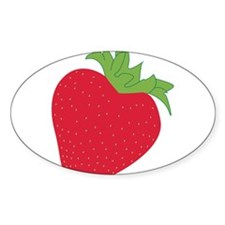 Funny Strawberry Decal