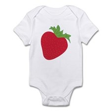 Cute Strawberry Infant Bodysuit