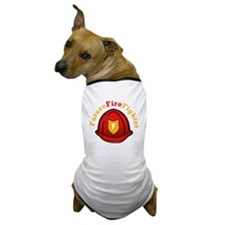 Future Fire Fighter Dog T-Shirt