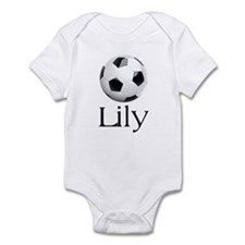 Lily Soccer Infant Bodysuit