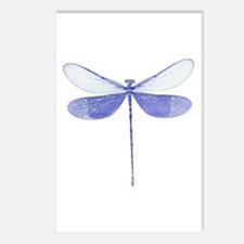 Blue Dragonfly Postcards (Package of 8)