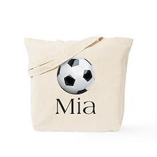 Mia Soccer Tote Bag