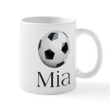 Mia Soccer Mug