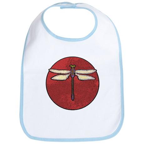 Dragonfly Moon Bib