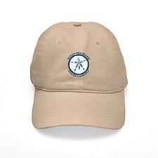 "Holden Beach NC ""Sand Dollar"" Design Baseball Cap"