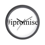 #ipromise Wall Clock