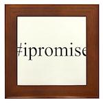 #ipromise Framed Tile