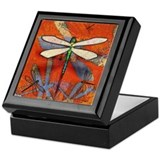 Dragonflies Keepsake Boxes