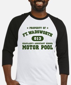 Motor Pool (Green) Baseball Jersey