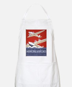 New York City Airports BBQ Apron