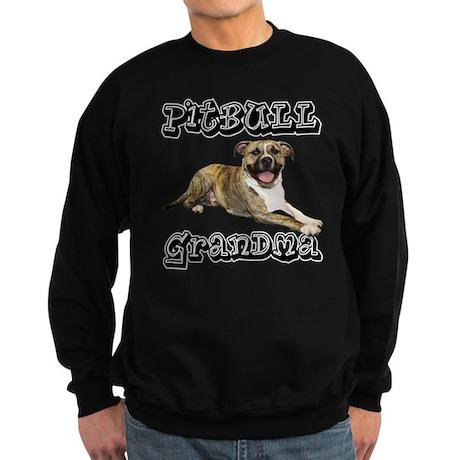 PitBull Grandma Sweatshirt (dark)