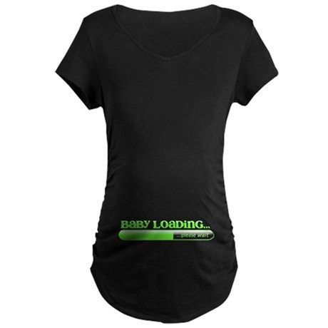 Baby Loading Maternity Dark T-Shirt
