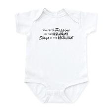 Whatever Happens - Restaurant Infant Bodysuit