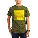 let's get naked Organic Men's T-Shirt (dark)