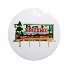 BEST STATE IN THE USA Ornament (Round)
