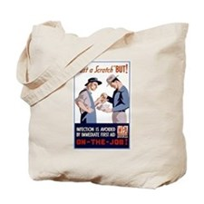 Cute Health and safety Tote Bag