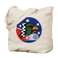 498th Fighter Squadron Tote Bag