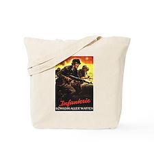 """Crossfire"" Tote Bag"