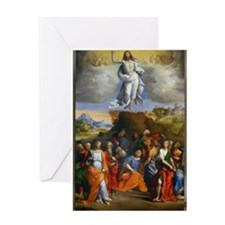 Cute Ascension Greeting Card