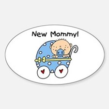 New Mommy Baby Boy Decal