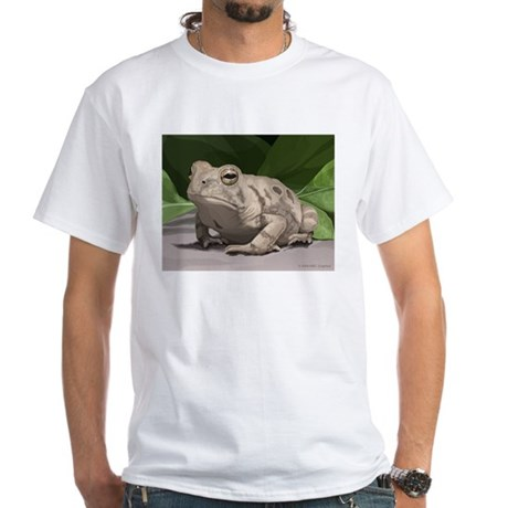 Fowler's Toad White T-Shirt