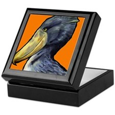 Shoebill Stork Keepsake Box