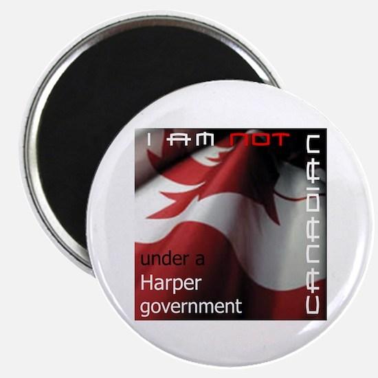 Not Canadian Under Harper Gov Magnet