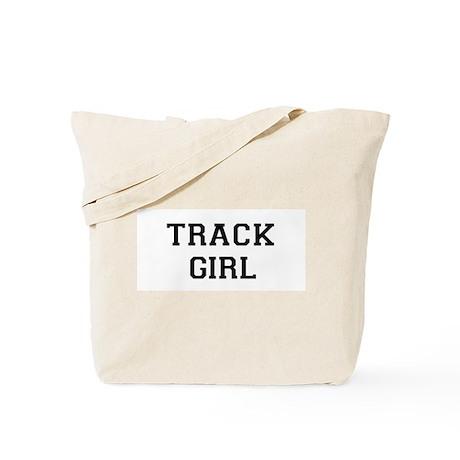 Track Girl Tote Bag