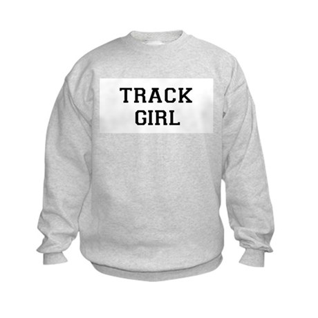 Track Girl Kids Sweatshirt