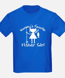 MOMMY'S FAVORITE FISHER GIRL T