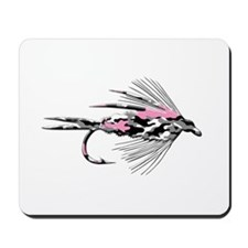 PINK CAMO FLY Mousepad