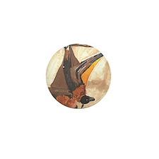 Bat- God's Creatures Mini Button (10 pack)