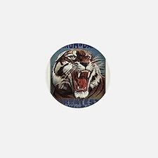 Vintage Circus Tiger Mini Button